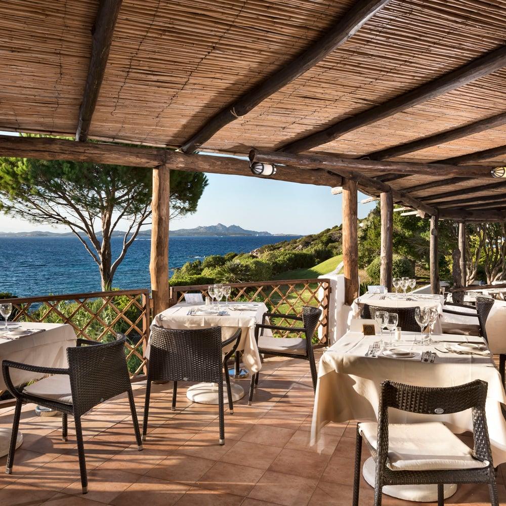 La Terrazza Restaurant - Baja Hotels Sardinia - Costa Smeralda