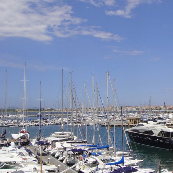 Marina of Cannigione
