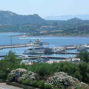 Marina of Portisco